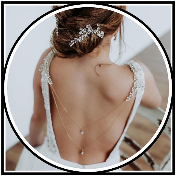 Braut Accessoires Kette